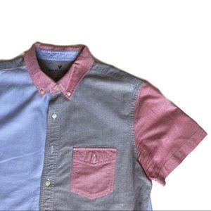 American Eagle Button-Down Shirt